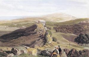 Bennet, Vue de murs d'Agrigente