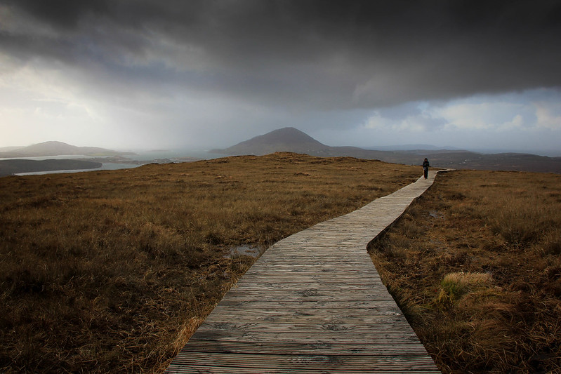 Stormy Skies Over Connemara