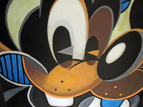 Cubist Goofy
