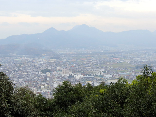 View from Kompirasan