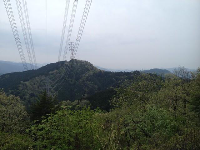 天狗ヶ城 鉄塔からの眺望 東