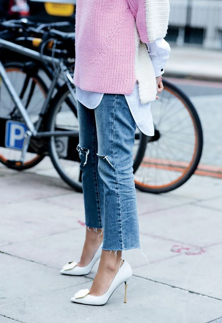 cropped flare jeans7