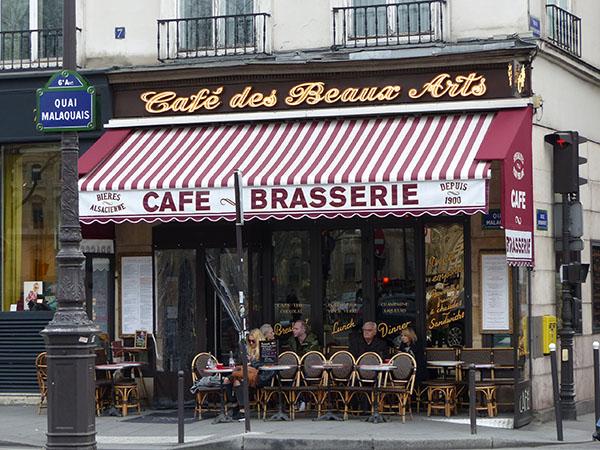 café quai malaquais