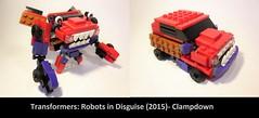 Lego Transformers RID2015- Clampdown