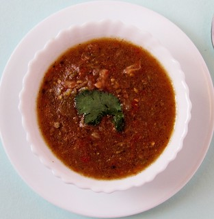 Spicy Indian Mutton Soup
