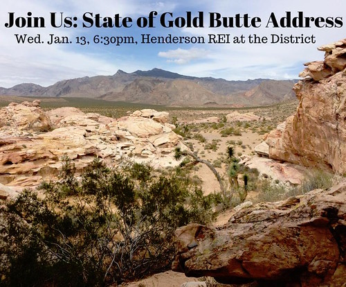 State of Gold Butte Address