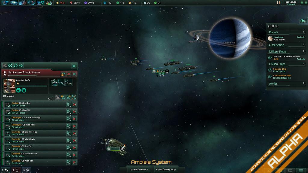 viaje hiperespacial stellaris