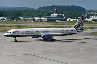 """British Airways Boeing 757-236 G-CPEO """"Whale Rider"""""""