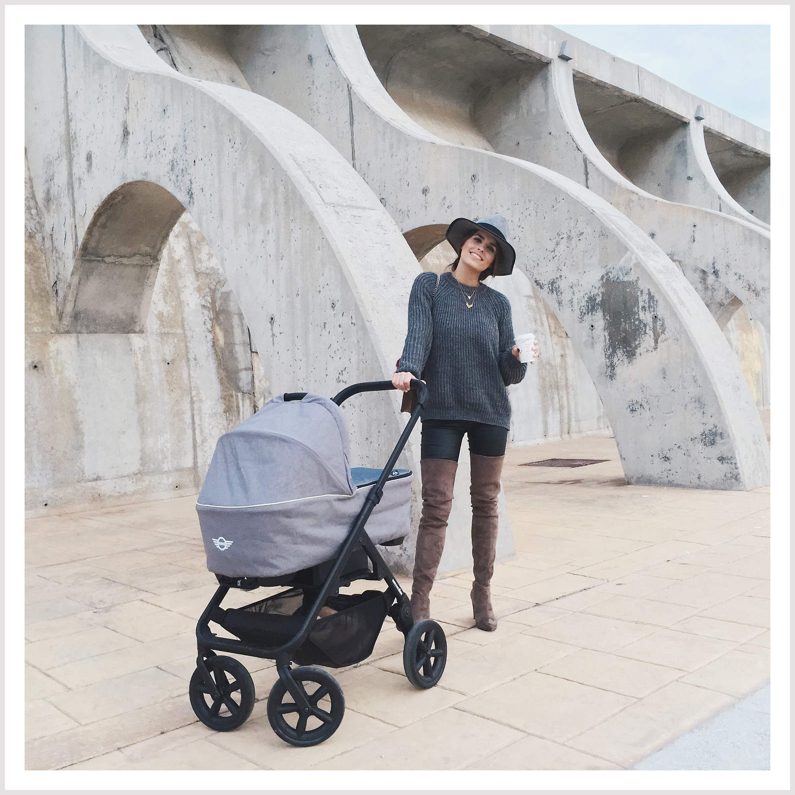 easy walker mini stroller new black miss olivia