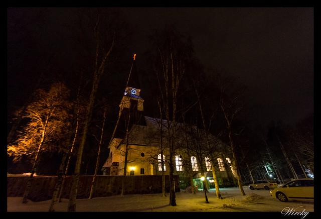 Laponia viaje Helsinki Rovaniemi - Iglesia luterana