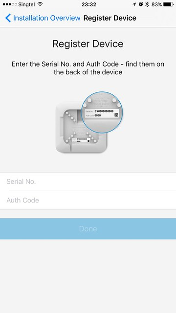 tado iOS App - Register Device