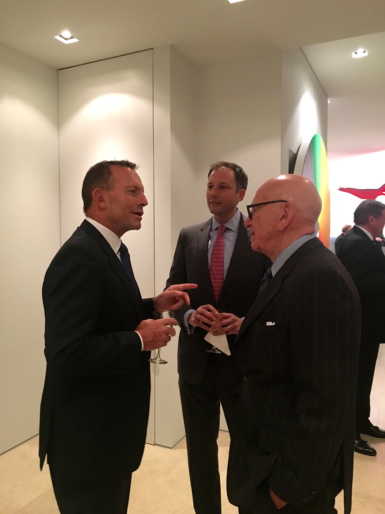 Hon Tony Abbott Reception By American Australian Council