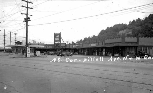 Cove Mid-City Market, 1937