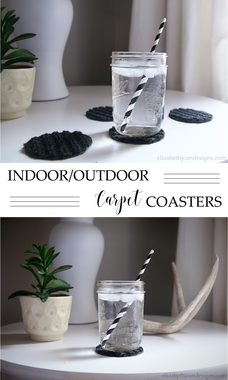 Indoor Outdoor Carpet Coasters