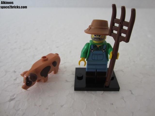 Lego Minifigures S15 fermier p1