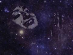 'Muse of the Galaxy' #eduardontavares #ipad #woman #digitalart #photoart