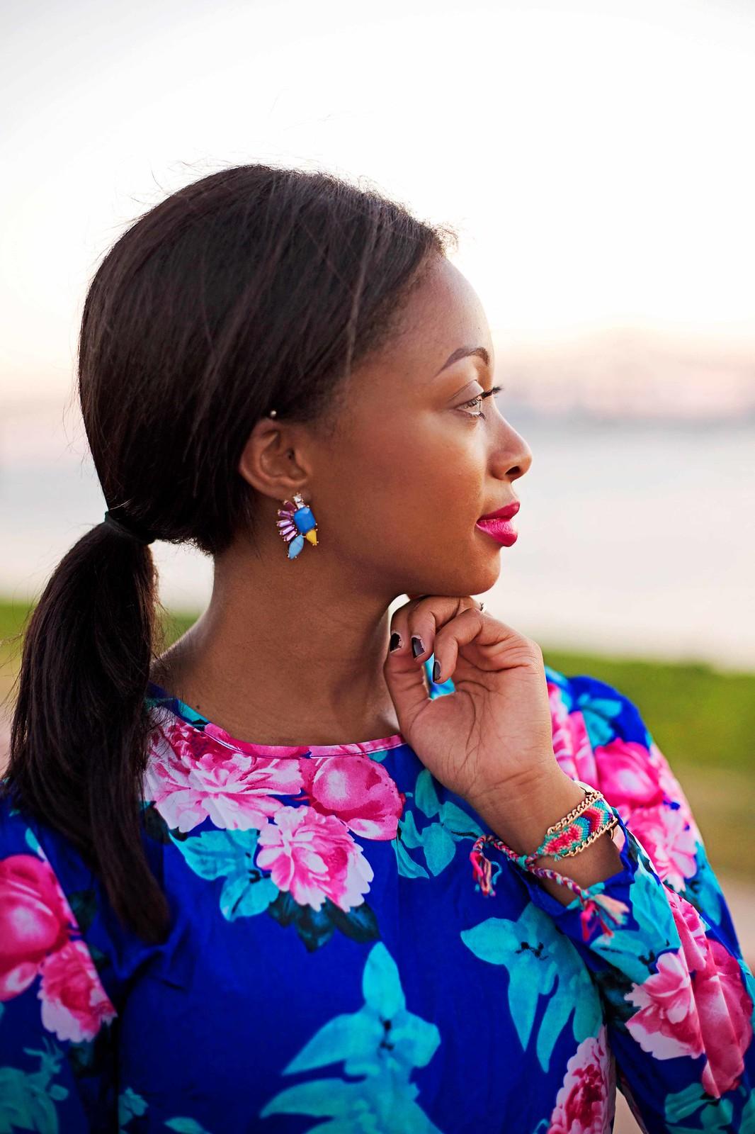 statement stud earrings louisiana fashion blogger