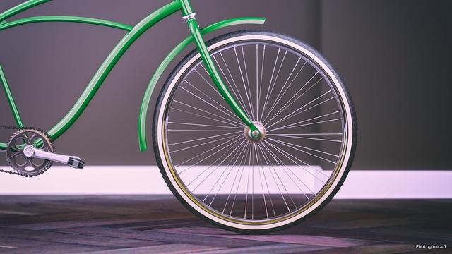 fiets voorwiel