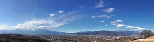 South Alps - Yatsugatake - Okuchichibu (L to R) panoramic view
