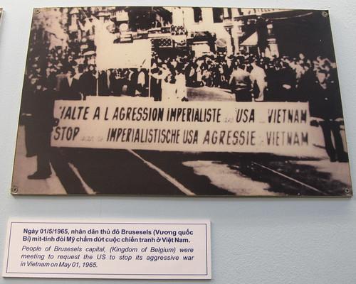 Ho Chi Minh Ville: manifestation en Belgique