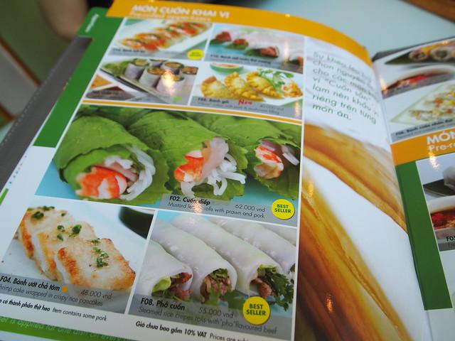P6279953 Wrap & Roll ラップ&ロール ベトナム ホーチミン 生春巻き専門店