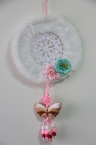 Doily Hanging Ornament