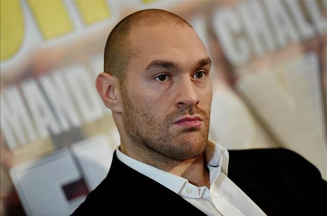 Tyson Fury spricht über Klitschko-Kampf