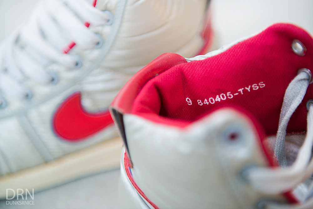 1984 Silver & Red Nike Vandals.