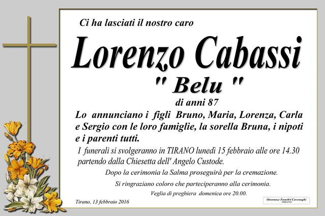 Cabassi Lorenzo