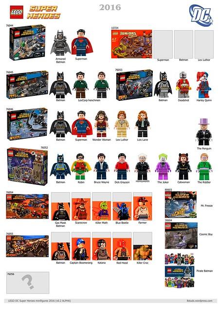 LEGO DC Marvel Super Heroes Minifigures 2016 v02ALPHA DC