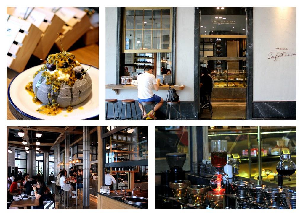 曼谷甜点:香草自助餐厅咖啡