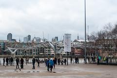 London Millennium Bridge from Tate Modern