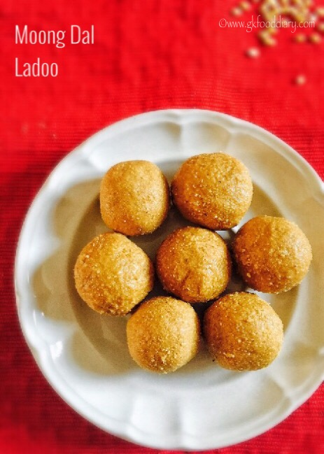 Moong dal Ladoo Recipe for Toddlers and Kids5