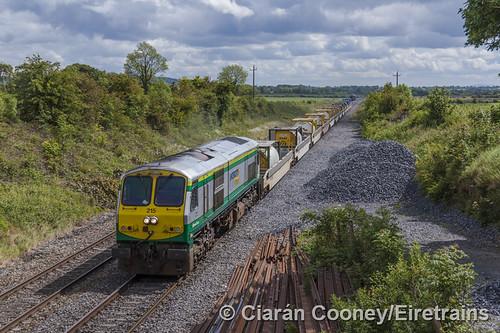 IE 215 Dublin - Ballina IWT (CPW) train, Hybla Bridge