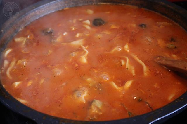 Andrajos con bacalao de Jaen www.cocinandoentreolivos.com (34)