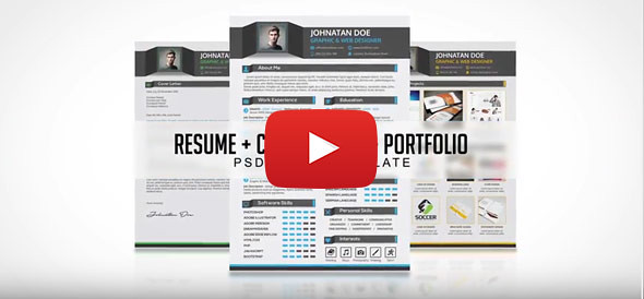 Professional Resume CV Video Preview