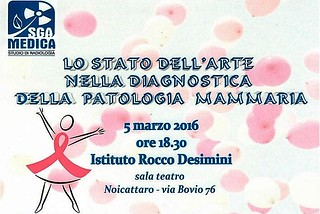 Noicattaro. Conferenza patologie mammarie front