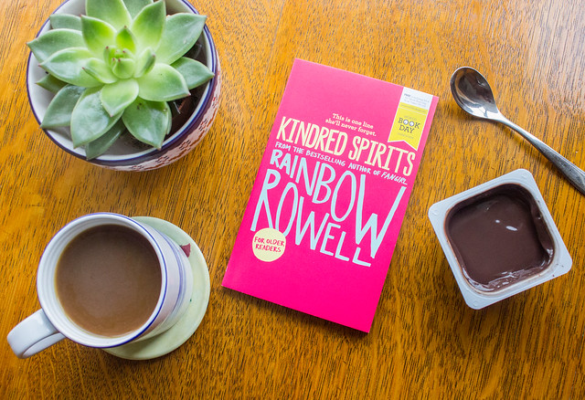 Kindred Spirits by Rainbow Rowell paperback