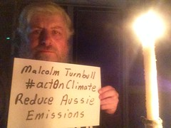 Malcolm Turnbull #actonclimate, reduce Aussie Emissions. Lights out for #EarthHour2016