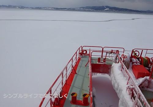 流氷、ガリンコ号流氷帯その1