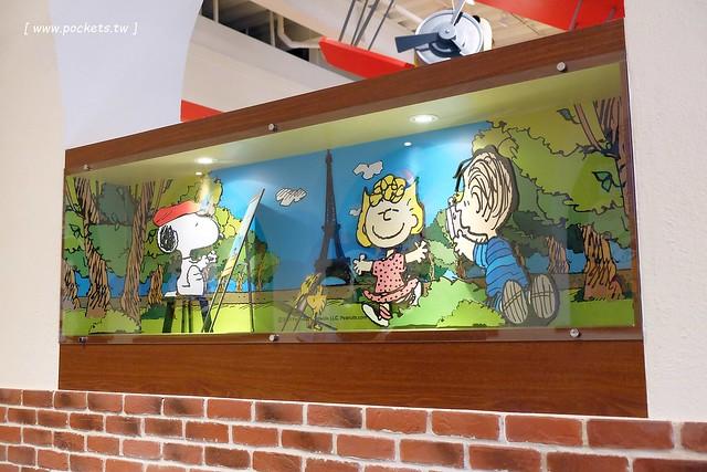 25398088542 2f91ac248d z - 【台中西屯】查理布朗咖啡.Charlie Brown Cafe:位於秋紅谷正對面鄰近朝馬車站,環境很漂亮也很好拍,餐點可愛觀賞性大於美味性
