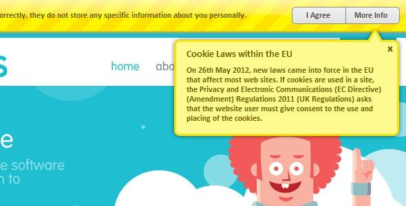 CodeCanyon EU Cookie Law Script v1.3c