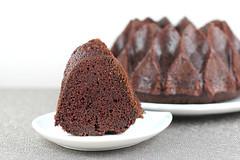 Chocolate Espresso Bundt Cake in Nordic Ware Crown…