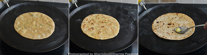 How to make Gobi paratha - Step3