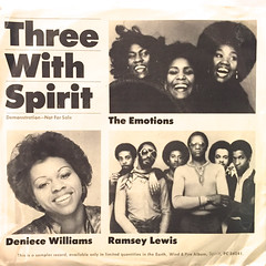 V.A.:THREE WITH SPIRITS(JACKET A)