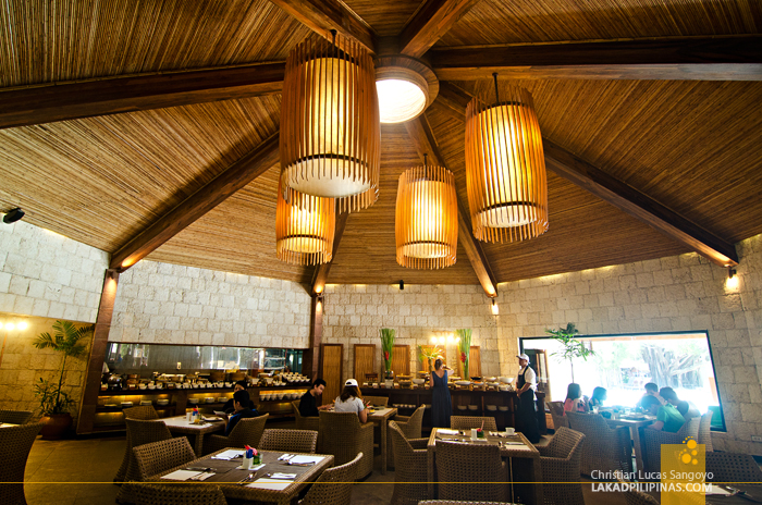 Bluewater Maribago Beach Resort Cebu Buffet Breakfast