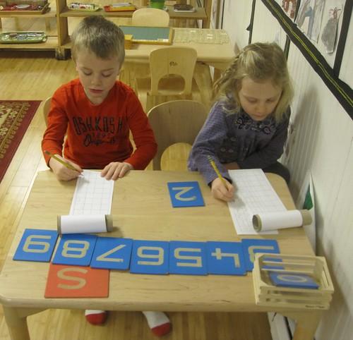 number scrolls