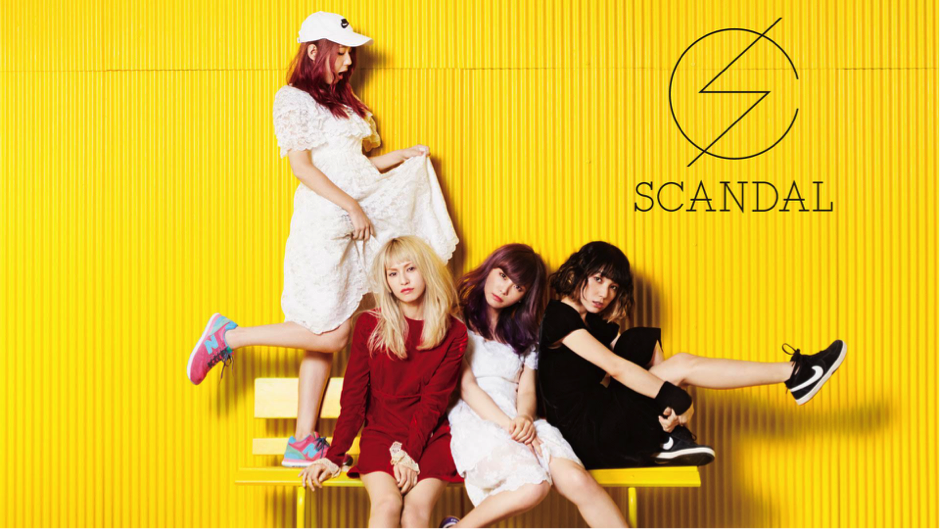 SCANDAL Returns to Singapore for 2016 Tour :「YELLOW 」