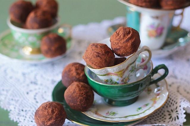 como fazer trufas de chocolate
