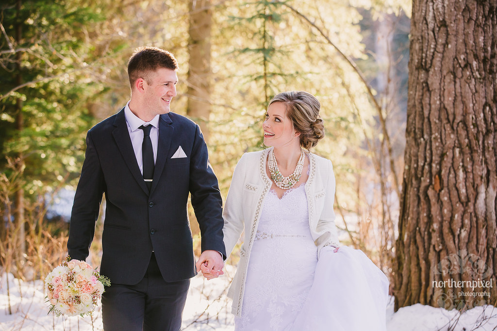 Newlyweds - Prince George Northern BC Wedding